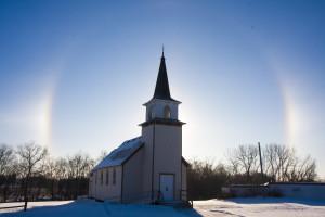 Hafslo Church Sun-Dogs