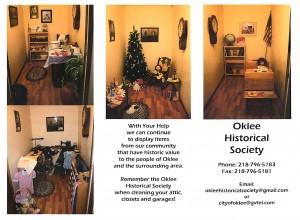 Oklee Historical Society